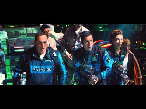 PIXELS Trailer with India Intro by Adam Sandler & Josh Gad for Blippar