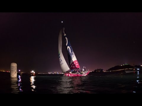 Live Recording - Leg 3 - Team SCA Arriving to Sanya | Volvo Ocean Race 2014-15