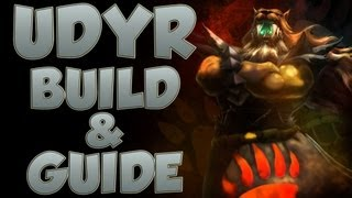 League Of Legends Udyr Build With Commentary