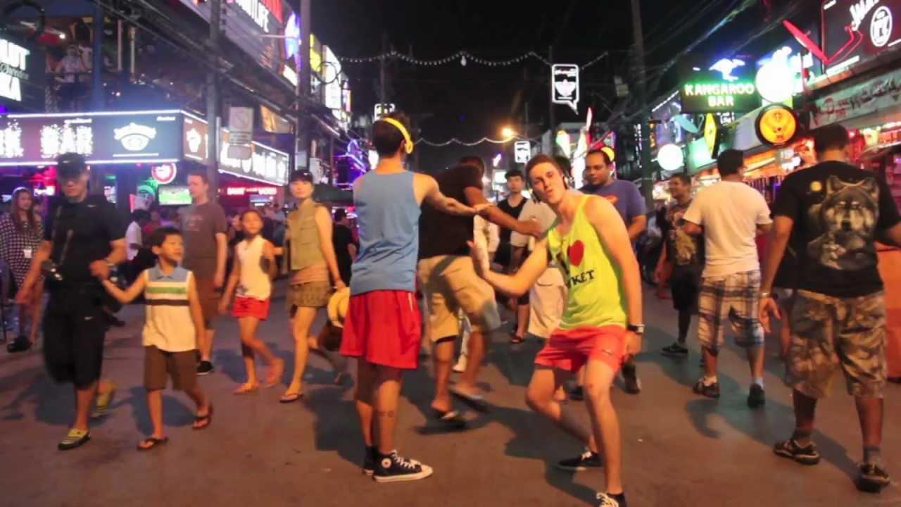 Bangla road walking street Phuket  💃  Thailand👄 बंगला रोड