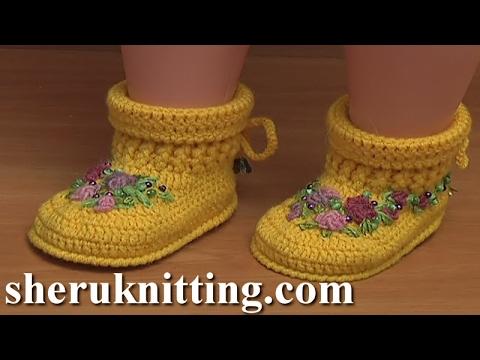 Crochet Baby Ugg Boots Video Tutorial 53 Demo Version
