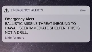 'This is not a drill': False missile alert in Hawaii