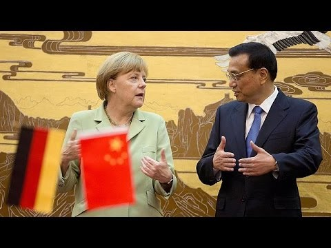 Trade top of the tree as Merkel does deals in China