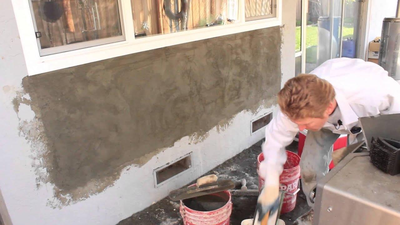 Portland Cement Plaster : Skip troweling portland cement plaster versus color coat