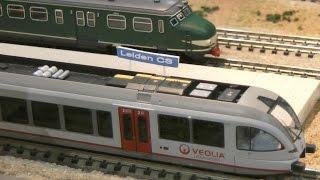 Fleischmann Spur N Modellbahn vom Modelspoorclub Malbak Blaricum