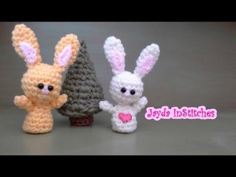 Crochet Amigurumi Bunny Tutorial : Crochet Along Amigurumi Bunny - Pattern Tutorial - YouTube