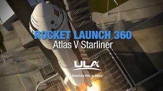 Rocket Launch 360: Atlas V Starliner