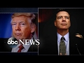 New York Times reports that Trump said firing Comey relieved great pressure from him