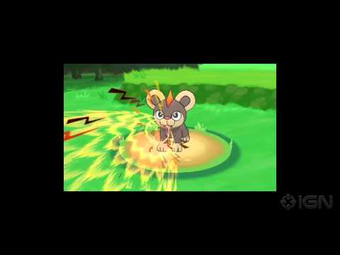 Pokemon X & Y New Gameplay Trailer