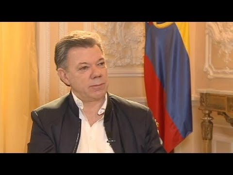 Juan Manuel Santos : '' I want to end this conflict with FARC once and for all.