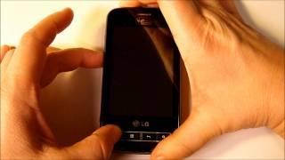 Hard Reset / Recovery Mode LG Optimus SLIDER