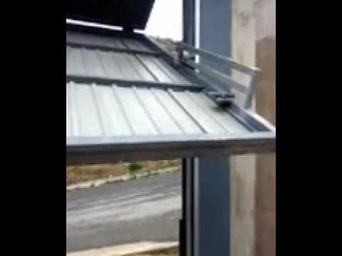 Puerta basculante de pesas con motor de cadena naked nice youtube - Como instalar un motor de puerta de garaje ...