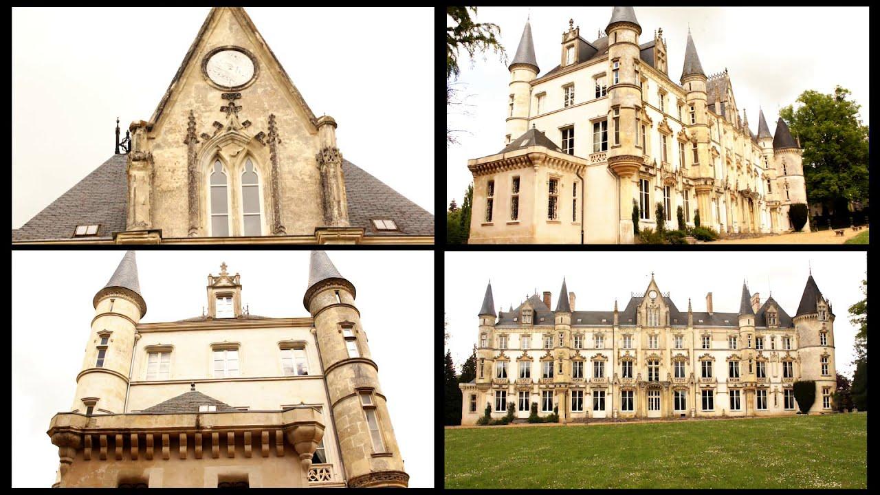 Chateau Castle For Sale In France Unique Amazing Luxury
