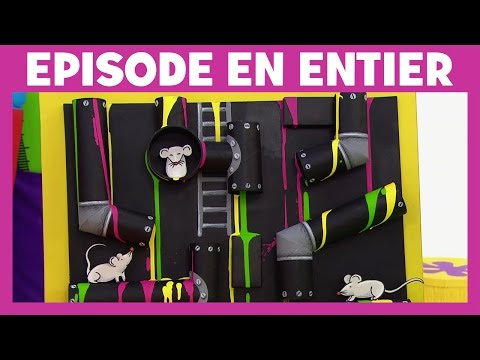 Art Attack - La peinture au tuyau - Disney Junior - VF