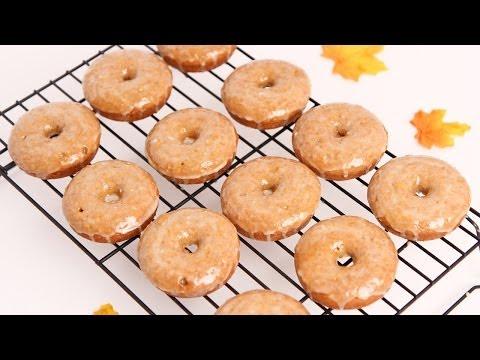 Apple Cider Baked Donuts Recipe