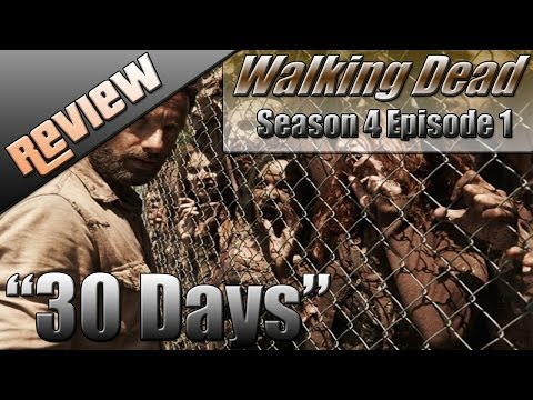 Walking Dead Season 4 Episode 1 Review