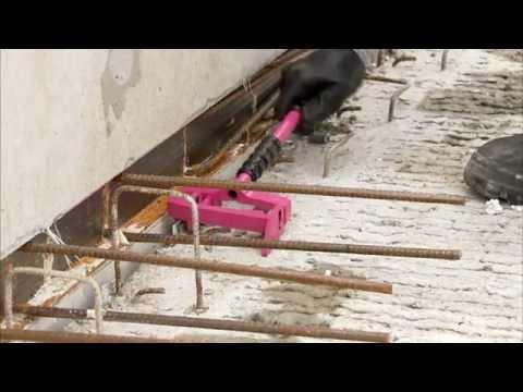 Planchers à prédalles suspendues : mise en place des boîtes d attentes