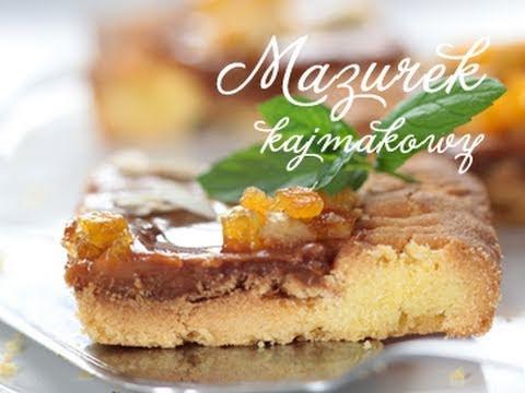 Mazurek kajmakowy   PozytywnaKuchnia.pl