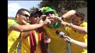 Nem dentro do Mineirão, nem na Praça da Savassi. A festa da torcida se espalhou pela cidade. Praça JK, Parque das Mangabeiras, ruas fechadas em vários bairros também viraram concentração de torcedores. Veja como foi a festa do Parque das Mangabeiras no último jogo do Brasil.