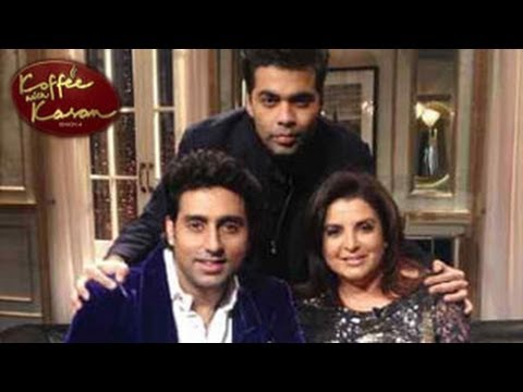 Koffee with Karan 15th December 2013 FULL EPISODE - ONLINE VIDEO Abhishek Bachchan & Farah Khan