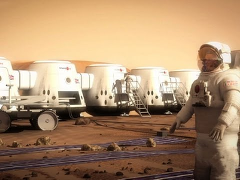Candidates for the Mars One mission prepare for  a one way trip