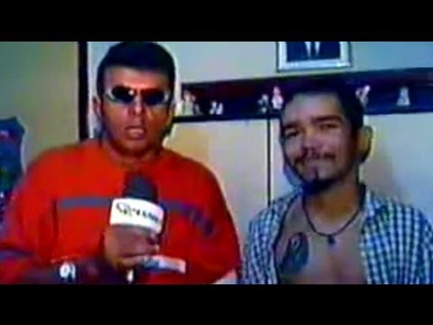Ely Aguiar entrevista o Furador de Gente