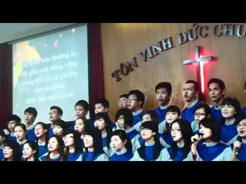 Mái Ấm Yêu Thương - Lễ Song Thân 2012 (with music sheet below)