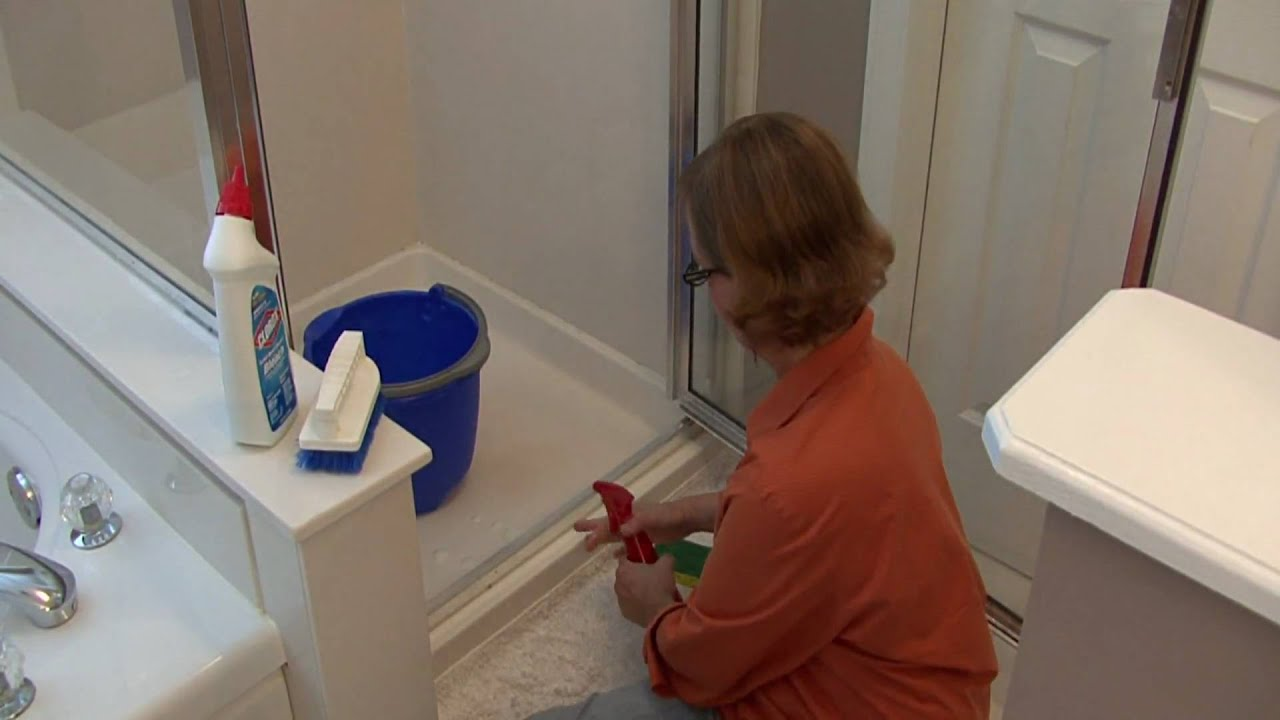 Bathroom Cleaning Tips How To Clean Shower Door Tracks