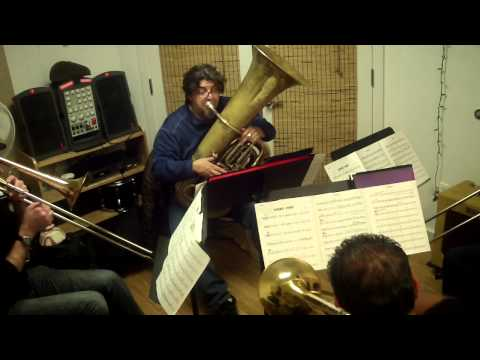 BIG SACKBUT REHEARSAL JAN '14