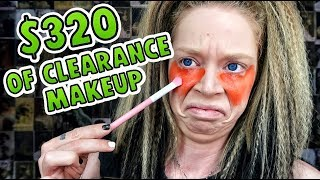 Full Face of ULTA CLEARANCE MAKEUP- I Spent $320 to LOOK LIKE THIS???
