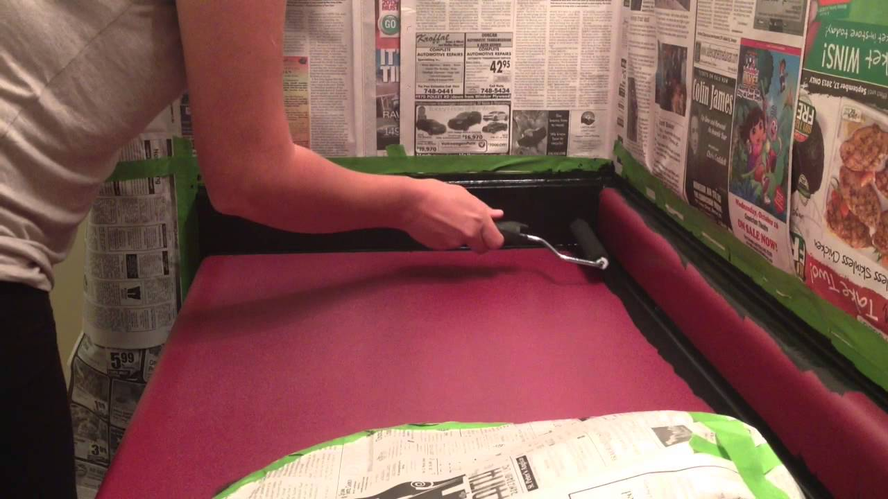 Giani Countertop Paint Youtube : Painting Countertops with Giani Paints, Part 3 of 5 Painting Base ...