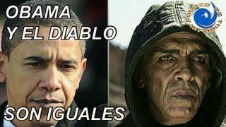 BARACK OBAMA Y EL DIABLO SON IGUALES