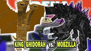 Minecraft Godzilla Vs. King Ghidorah