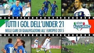 Tutti i gol degli Azzurrini nelle qualificazioni agli Europei 2015