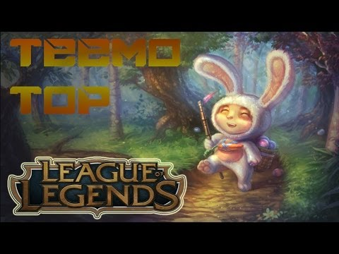 League Of Legends Season 4 - Cottontail Teemo Top