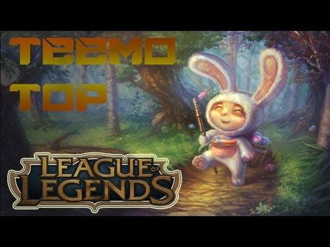 League Of Legends Season 4 - Cottontail Teemo Top