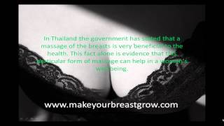Massages To Increase Breast Size