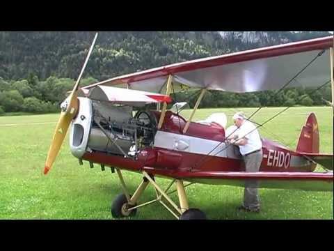 Stampe Biplane Flight over Tyrol