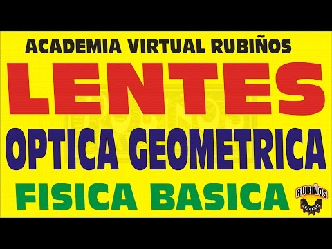 LENTES-DEFINICION EN OPTICA GEOMETRICA