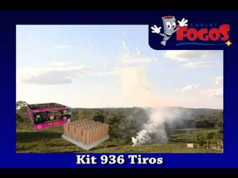 Kit 936 Tiros - Cariri Fogos