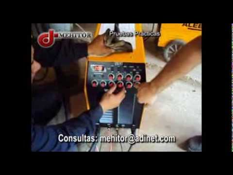 TUTORIAL ARCO ELECTRIC INVERTER ACDC 315 - MEHITOR URUGUAY