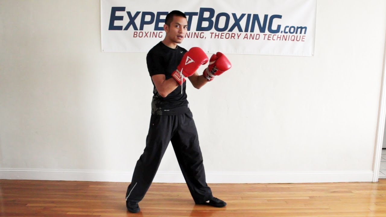 how to get better at boxing footwork