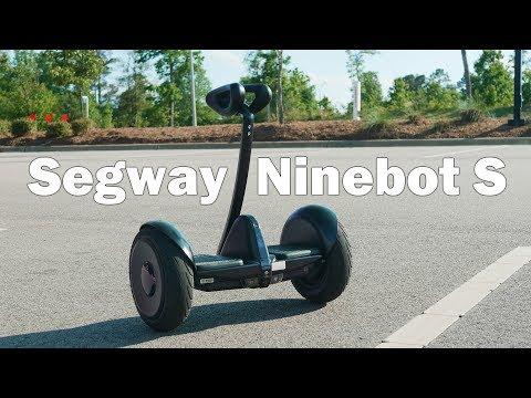 video Powerful Segway Ninebot S 2020