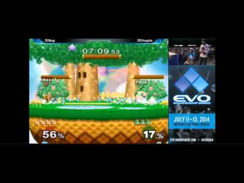 Evo 2014 Super Smash Bros. Melee Top 8