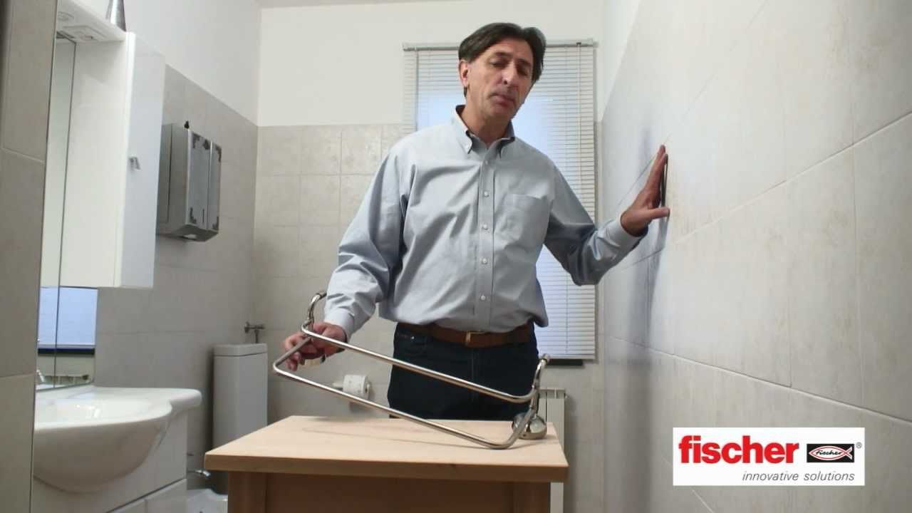 fischer Ready to Fix - Kit di fissaggio per gli accessori bagno - YouTube