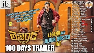 Legend 100 days Powerful dialogues Trailer