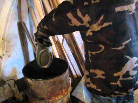 Печь для теплицы на дровах своими руками