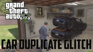 GTA 5 Car Glitch: How To Duplicate Any Car! (Grand Theft Auto 5 Glitches)