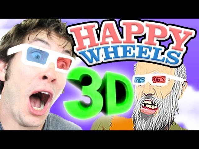3D COURSE! - Happy Wheels