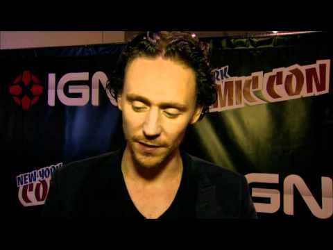 Tom Hiddleston Talks 'The Avengers' At New York Comic Con